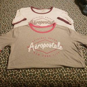 Medium Aeropostale tshirts
